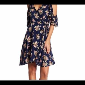 Angie Floral Wrap Dress